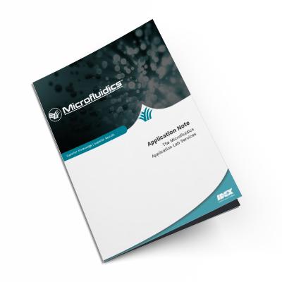 The Microfluidics  Application Lab Services