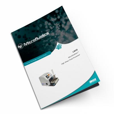 LM10 Microfluidizer®High Shear Fluid Homogenizer