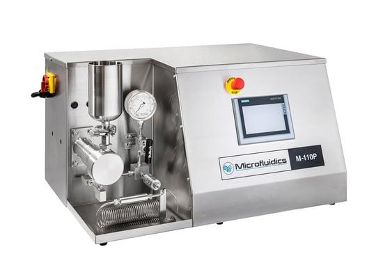 M110P_Lab scale high shear fluid processor