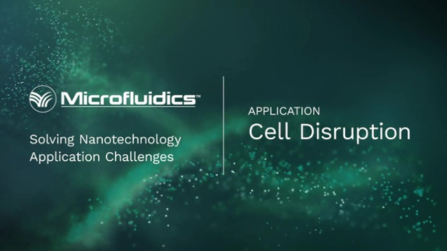 Cell Disruption Video