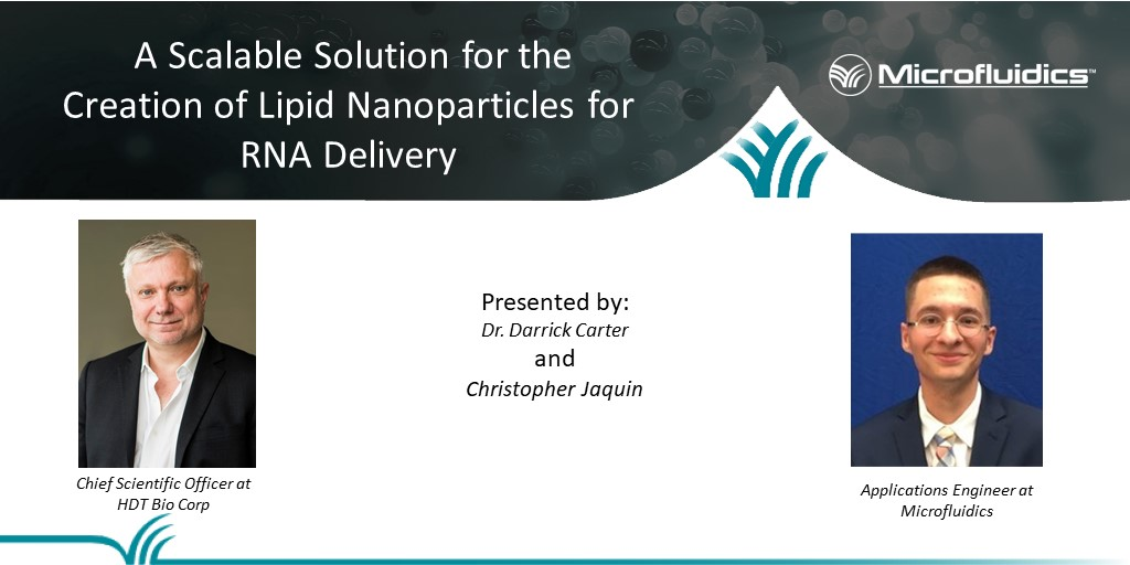 A Scalable Solution for the Creation of Lipid Nanoparticles for RNA Delivery