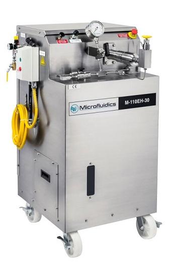 M-110EH Microfluidizer electric-hydraulic pilot scale homogenizer